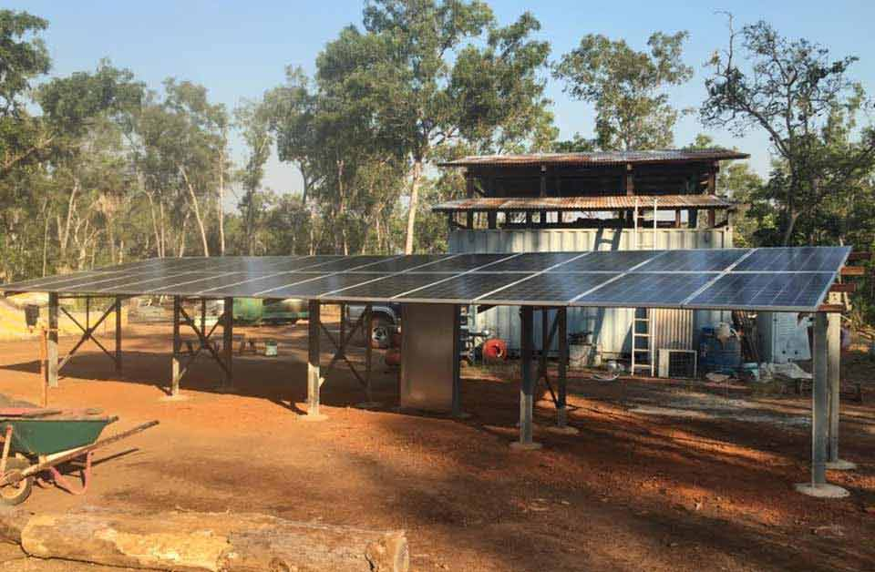 Off-Grid Systems—Solar Panel Berry Springs, NT